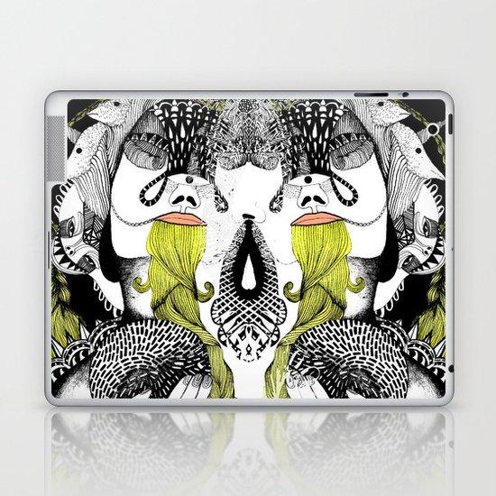 Human hunter Laptop & iPad Skin