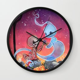 Body and Soul: First bloom Wall Clock