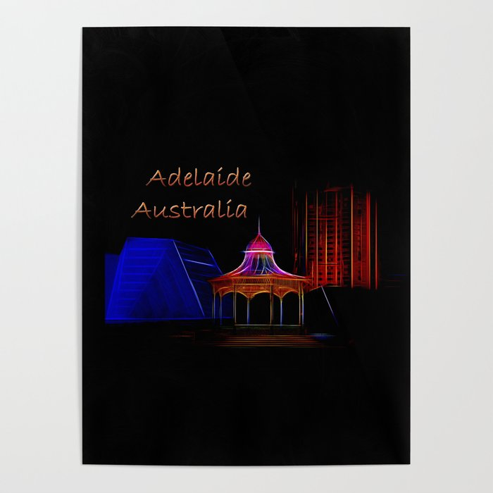 Electrified Adelaide Poster