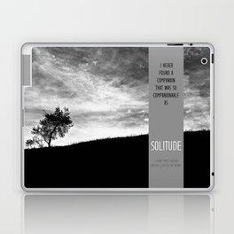 Henry David Thoreau - Solitude Laptop & iPad Skin