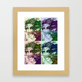acidity pop art Framed Art Print