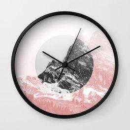 Mountain 01 Wall Clock