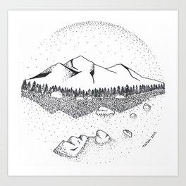 Katahdin Art Print