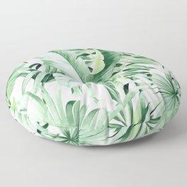 tropical tree Floor Pillow