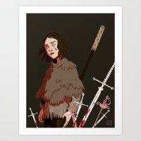 Arya Art Print