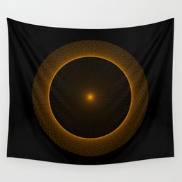 Interference Pattern Wall Tapestry