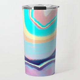 Colorful agate Travel Mug