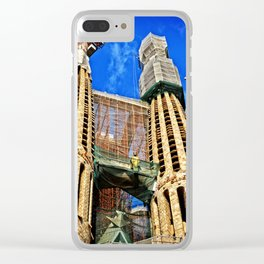 Sagrata Familia Clear iPhone Case