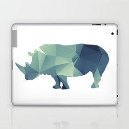 Rihno - blue geomatric Laptop & iPad Skin
