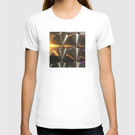 Moon Glow From Jupiter: Calistto's Reflection T-shirt