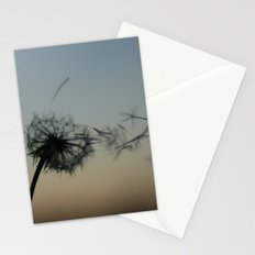wishes on the wind Stationery Cards