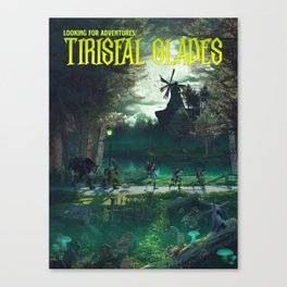 TG (Novel cover) Canvas Print