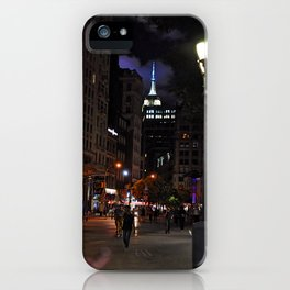 Night has fallen... iPhone Case