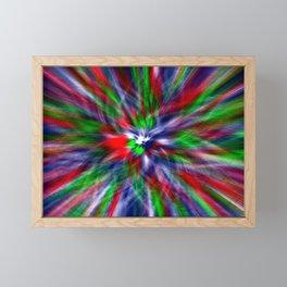 Concept abstract : No deal Framed Mini Art Print