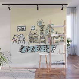 Living Room Wall Mural