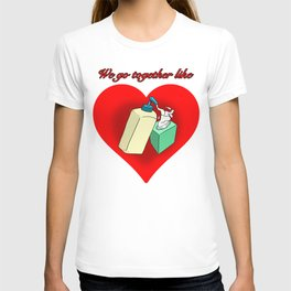 Hand Lotion and Tissues T-shirt
