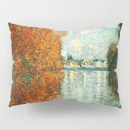 Monet : Autumn Effect at Argenteuil Pillow Sham