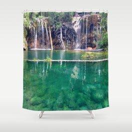 Colorado Hanging Lake Shower Curtain
