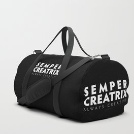 Semper Creatrix (Black) Duffle Bag