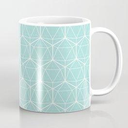 Icosahedron Seafoam Coffee Mug