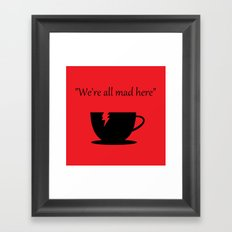 Mad Framed Art Print