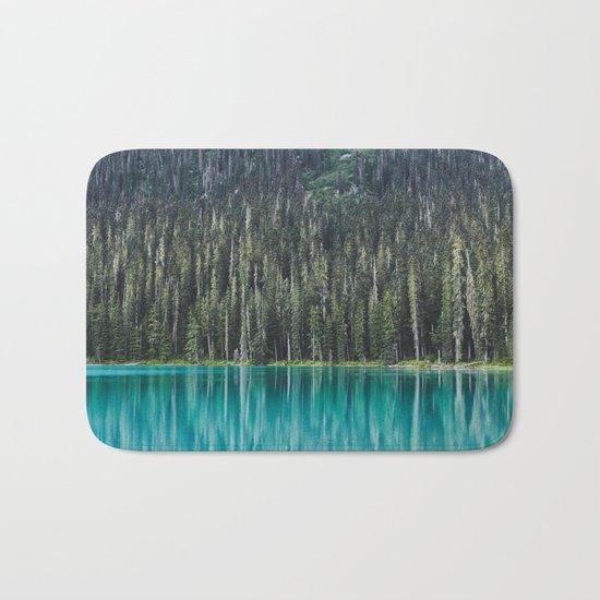 Joffre Lake Bath Mat
