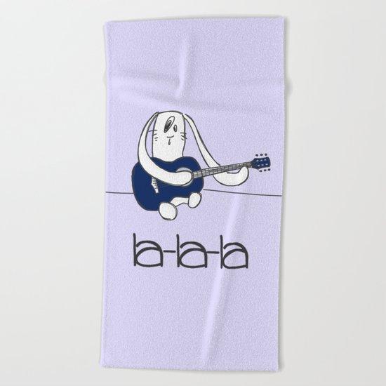 La-la-la Beach Towel
