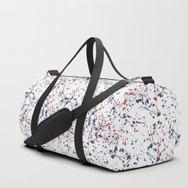 Splat Red White and Blue 2 Duffle Bag