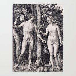 Adam and Eve by Albrecht Dürer Poster