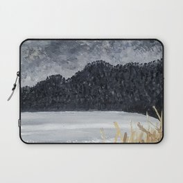 Stormy Beach Laptop Sleeve
