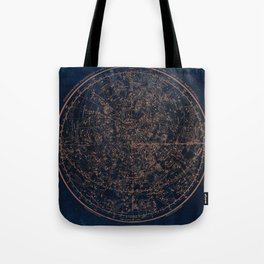 Constellations of the Northern Hemisphere Tote Bag