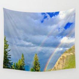 Canadian Rocky Rainbow Wall Tapestry