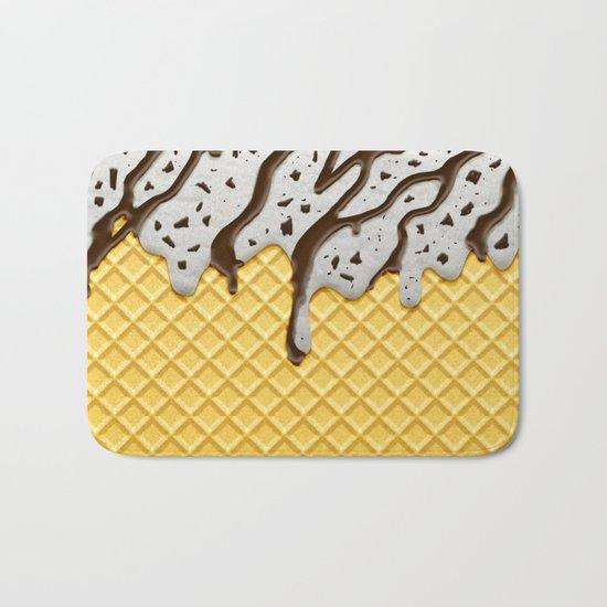 Cookie Ice Cream Bath Mat