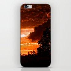 Fire In The Sky iPhone & iPod Skin