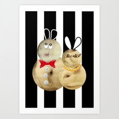 couple2 Art Print