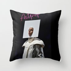 A-R-T-P-O-P Throw Pillow