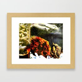 """We Did Not Worry For It Had Already Been Written In The Stars, The Trees, And Even The Rocks"" Framed Art Print"