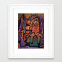 glitter Framed Art Prints featuring GLITTER by Deyana Deco