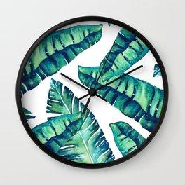 Tropical Glam #society6 #decor #buyart Wall Clock