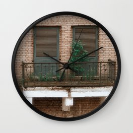 Old Industrial City Wall Clock