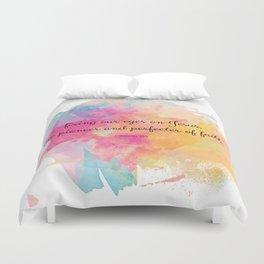 Perfecter of Faith, Scripture Tote Bag Duvet Cover
