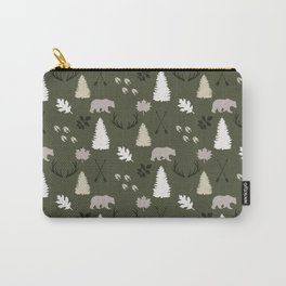 Woodland - Evergreen Carry-All Pouch