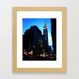 Welcome to NYC Framed Art Print