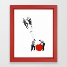 US AND THEM >dedicated to László Moholy-Nagy / 038 Framed Art Print