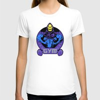 gym T-shirts featuring Skeletor's gym by Buby87