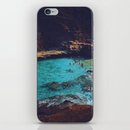 Emerald Sea iPhone Skin