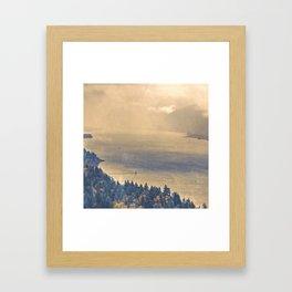 Classic Columbia Framed Art Print