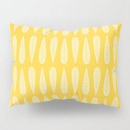 Golden Gum Leaves Pillow Sham