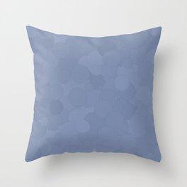 Stonewash Bubble Dot Color Accent Throw Pillow