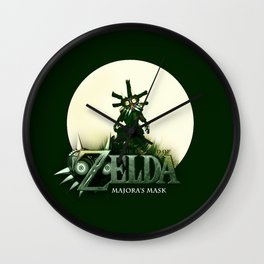 Zelda Mask Wall Clock